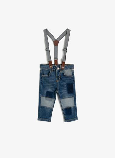 Koton Kids %99 Pamuk, %1 Elastan Mavi